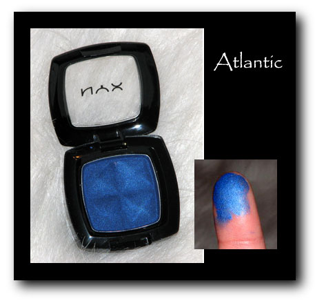 NYX Eyeshadown atlantic