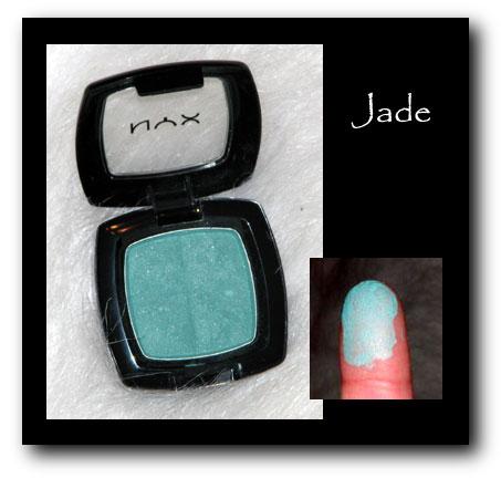 NYX Eyeshadown Jade