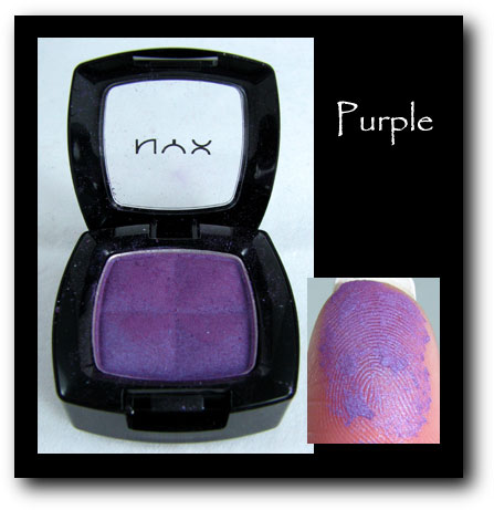 NYX Eyeshadown purple